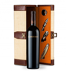 Wine Totes & Carriers: Cardinale Cabernet Sauvignon 2008 Wine Steward Luxury Caddy
