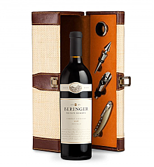 Wine Totes & Carriers: Beringer Private Reserve Cabernet Sauvignon 2008 Wine Steward Luxury Caddy