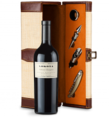 Wine Totes & Carriers: Lokoya Mt. Veeder Cabernet Sauvignon 2005 Wine Steward Luxury Caddy