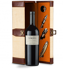 Wine Totes & Carriers: Lokoya Spring Mountain Cabernet Sauvignon 2009 Wine Steward Luxury Caddy