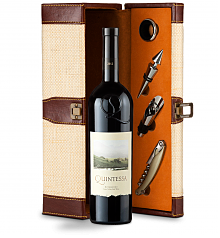 Wine Totes & Carriers: Quintessa Meritage Red 2012 Wine Steward Luxury Caddy
