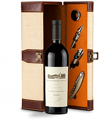 Wine Totes & Carriers: Robert Mondavi Reserve Cabernet Sauvignon 2012 Wine Steward Luxury Caddy