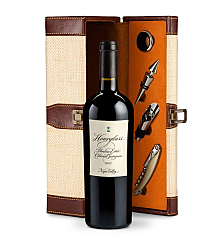 Wine Totes & Carriers: Hourglass Blueline Estate Cabernet Sauvignon 2013 Wine Steward Luxury Caddy