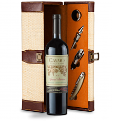 Wine Totes & Carriers: Caymus Special Selection Cabernet Sauvignon 2013 Wine Steward Luxury Caddy