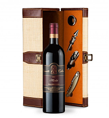Wine Totes & Carriers: Leonetti Reserve Merlot 2008 Wine Steward Luxury Caddy
