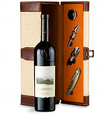 Wine Totes & Carriers: Quintessa Meritage Red 2013 Wine Steward Luxury Caddy