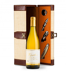 Wine Totes & Carriers: Kistler Vineyard McCrea Chardonnay Sonoma Mountain 2014 Wine Steward Luxury Caddy
