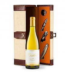 Wine Totes & Carriers: Kistler Vineyard Sonoma Mountain Chardonnay 2014 Wine Steward Luxury Caddy