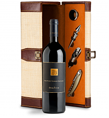 Wine Totes & Carriers: Darioush Signature Cabernet Sauvignon 2014 Wine Steward Luxury Caddy