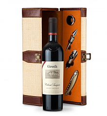 Wine Totes & Carriers: Groth Reserve Cabernet Sauvignon 2013 Wine Steward Luxury Caddy