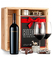 Wine Gift Boxes: Cardinale Cabernet Sauvignon 2011 Private Cellar Gift Set