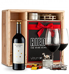 Wine Gift Boxes: Hundred Acre Few And Far Between Cabernet Sauvignon 2010 Private Cellar Gift Set