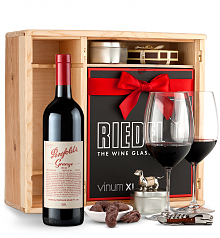 Wine Gift Boxes: Penfolds Grange 2010 Private Cellar Gift Set