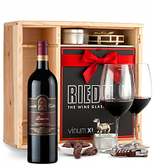 Wine Gift Boxes: Leonetti Reserve Red 2010 Private Cellar Gift Set