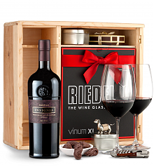 Wine Gift Boxes: Joseph Phelps Napa Valley Insignia Red 2012 Private Cellar Gift Set