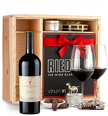 Wine Gift Boxes: Peter Michael Les Pavots 2012 Private Cellar Gift