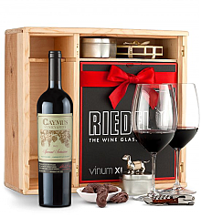 Wine Gift Boxes: Caymus Special Selection Cabernet Sauvignon 2012 Private Cellar Gift Set