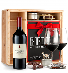 Wine Gift Boxes: Verite La Joie Cabernet Sauvignon 2010 Private Cellar Gift Set