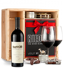 Wine Gift Boxes: Robert Mondavi Reserve Cabernet Sauvignon 2012 Private Cellar Gift Set