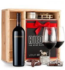Wine Gift Boxes: Cardinale Cabernet Sauvignon 2012 Private Cellar Gift Set