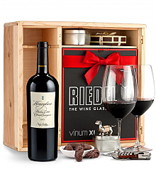 Wine Gift Boxes: Hourglass Blueline Estate Cabernet Sauvignon 2013 Private Cellar Gift Set