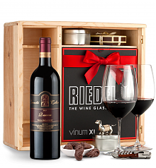 Wine Gift Boxes: Leonetti Reserve Red 2013 Private Cellar Gift Set