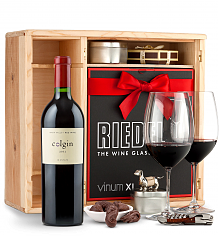 Wine Gift Boxes: Colgin Cariad Red Blend 2012 Private Cellar Gift Set