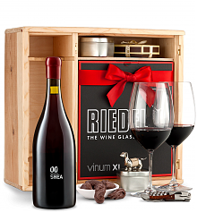 Wine Gift Boxes: 00 Shea Vineyard Pinot Noir 2014 Private Cellar Gift Set