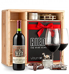 Wine Gift Boxes: Heitz Cellars Napa Valley Cabernet 2011 Private Cellar Gift Set