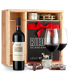 Wine Gift Boxes: Groth Reserve Cabernet Sauvignon 2013 Private Cellar Gift Set