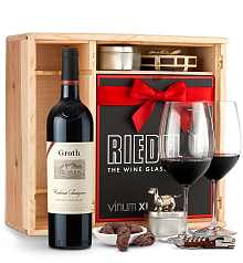 Wine Gift Boxes: Groth Reserve Cabernet Sauvignon 2014 Private Cellar Gift Set